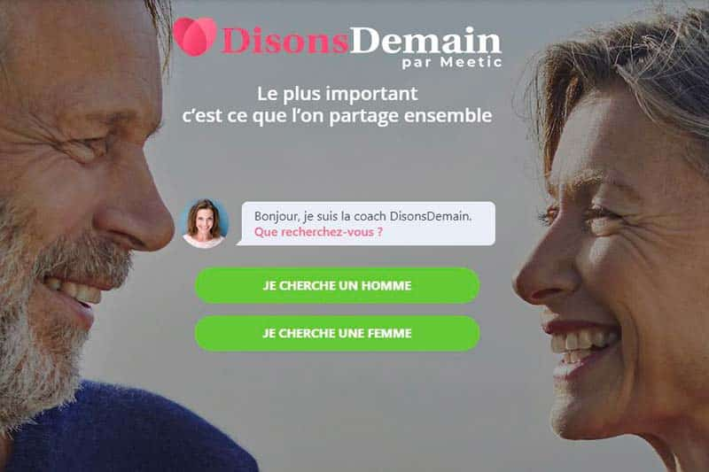 disonsdemain site de rencontre plus de 50 ans