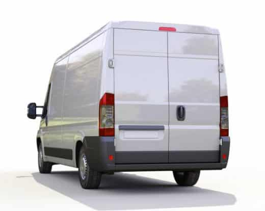 Depositphotos 32435825 Stock Photo White Commercial Delivery Van